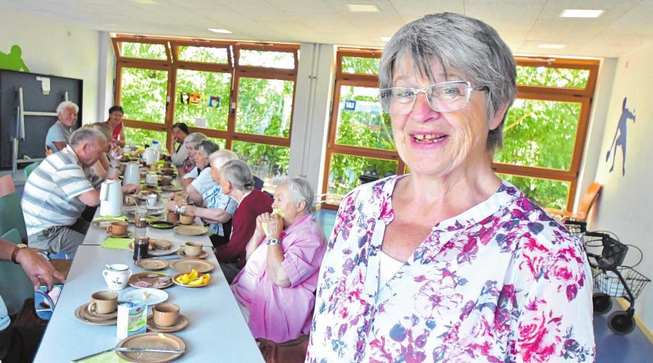 Rita Delp fühlt sich in Mannheim zuhause
