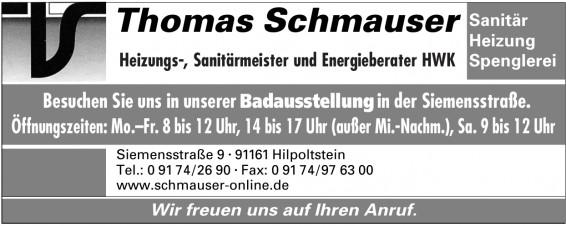 Thomas Schmauser, Sanitär Heizung Spenglerei