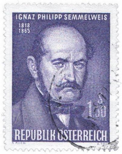 "Ignaz Semmelweiss war der erste ""Centamination Control""-Experte."