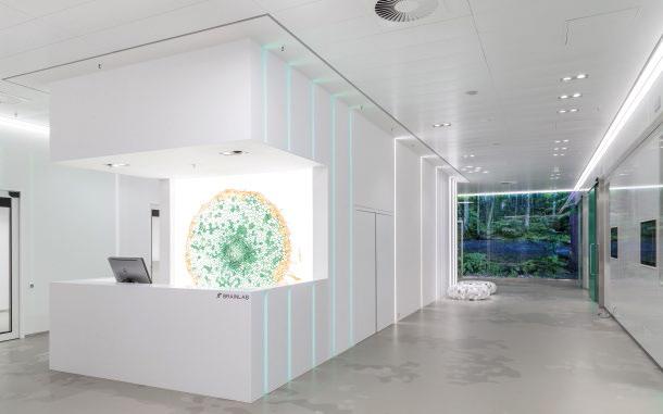 Abb. 1: Das futuristische Designkonzept wird durch unterschiedliche Motive und LED-Lichtelemente erweitert.