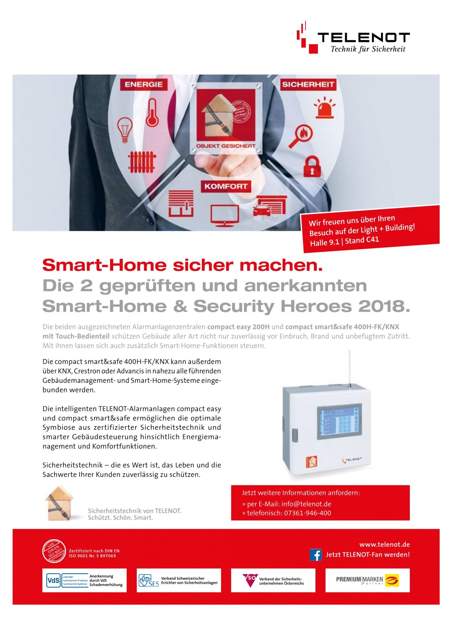 TELENOT Technik für Sicherheit