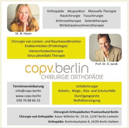 Chirurgisch Orthopädischer Praxisverbund Berlin