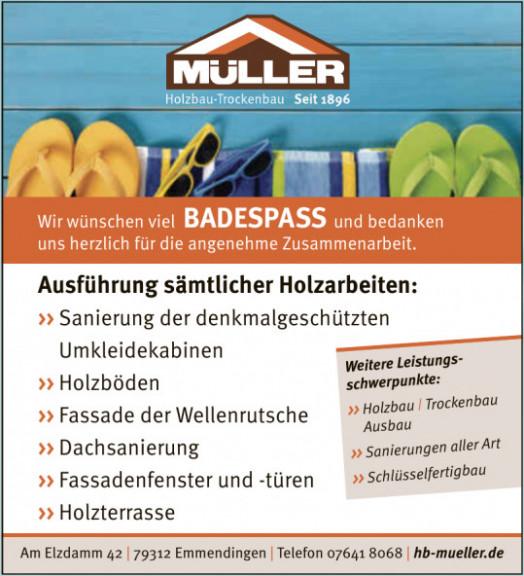Müller Holzbau-Trockenbau