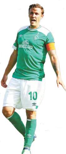 Neuer Kapitän in Bremen: Angreifer Max Kruse ist Werder treu geblieben.