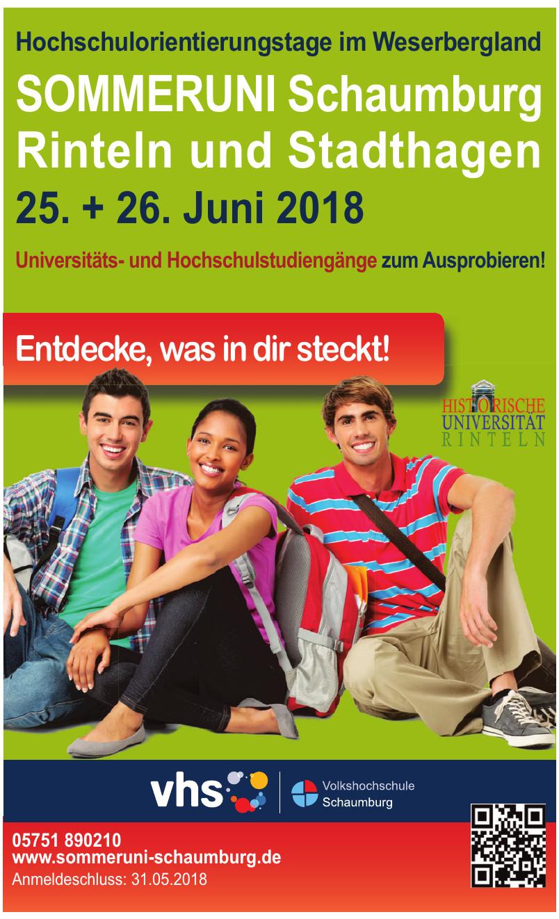Sommeruni Schaumburg