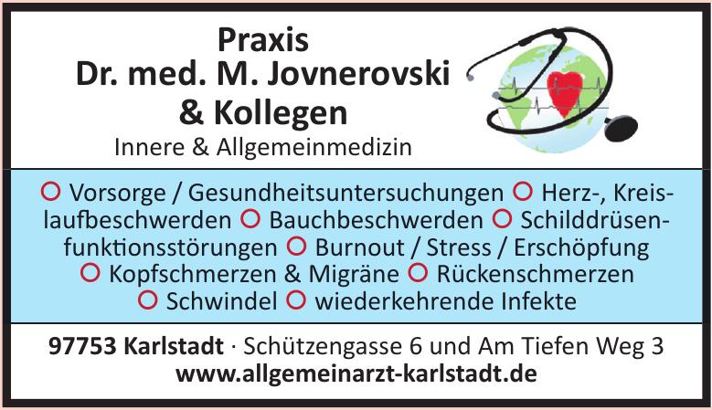 Praxis Dr. med. M. Jovnerovski & Kollegen Innere & Allgemeinmedizin