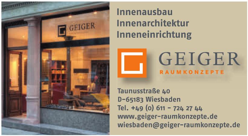 Geiger Raumkonzepte
