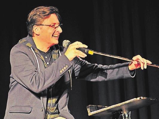 Stefan Verhasselt ist vielen als Radio-Moderator und Kabarettist bekannt. Er tritt am Samstag auf.