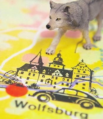 """Ausstellung """"Wolfsburger Wahrzeichen"""" im Schlossmuseum."""