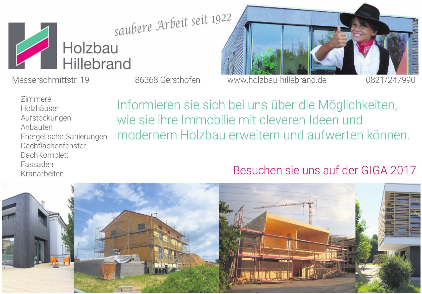 Holzbau Hillebrand
