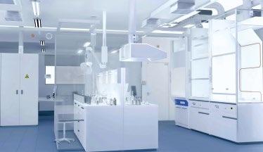 Abb. 1: Medikamente werden unter streng reglementierten Umgebungsbedingungen entwickelt und getestet. © iStock.com/dmbaker