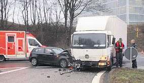 Hoffentlich waren die Fahrer gut versichert Foto: Polizei