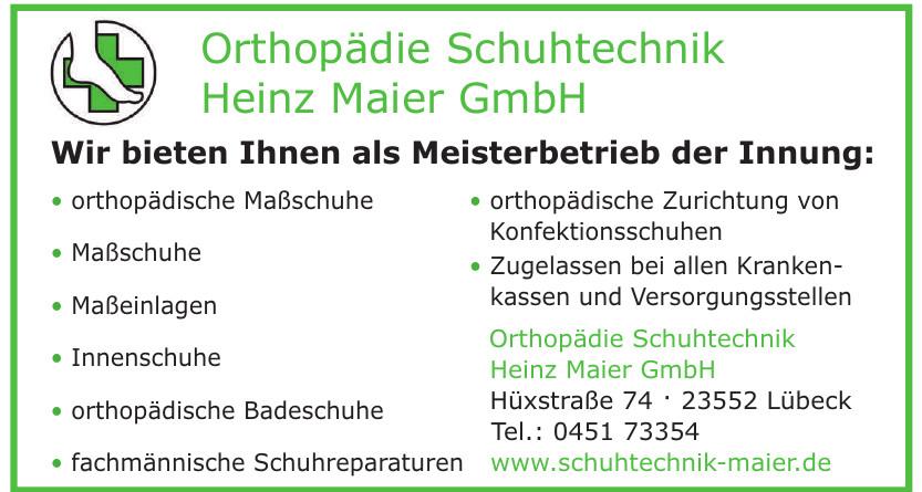Orthopädie Schuhtechnik Heinz Maier GmbH