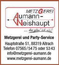 Metzgerei und Party-Service Aumann