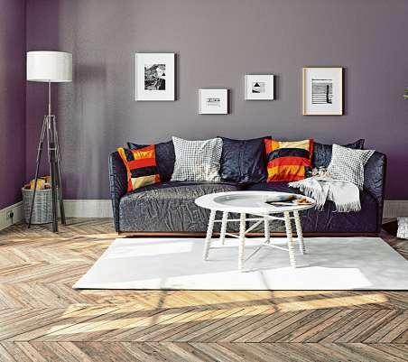 Natürliche Farben und Materialien liegen im Trend – auch beim Holzfußboden. ISTOCK/VICNT, BUKKERKA