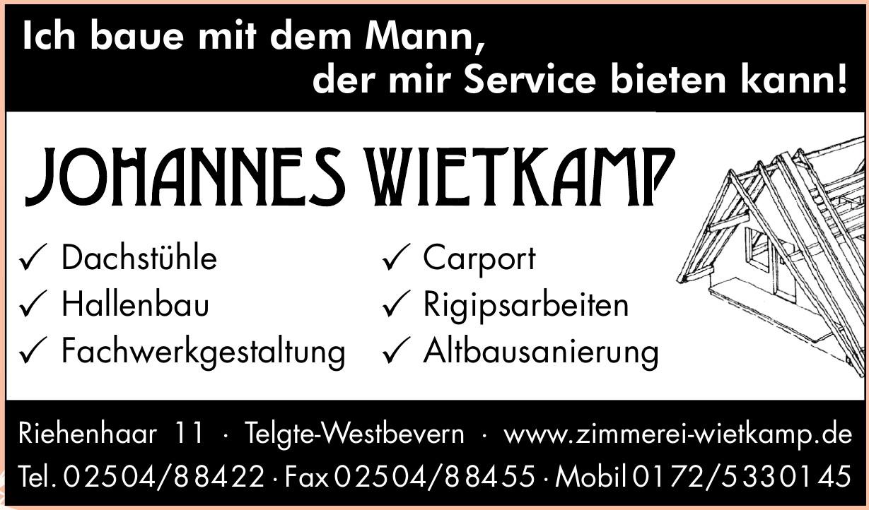 Zimmerei Johannes Wietkamp GmbH