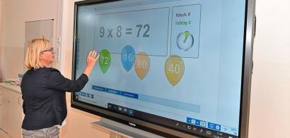Neue Räume mit interaktiven Tafeln Image 2