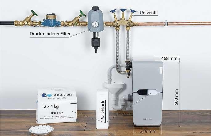 In der Regel ist eine Weichwasseranlage in zwei Stunden installiert. FOTO: Christiane Münster
