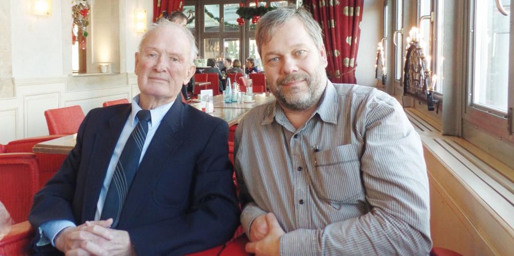 Abb. 1: Dr. Ingo Nietzold und Joachim Ludwig im Dezember 2015