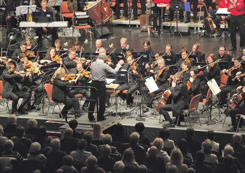Beim Pfingstfrühkonzert spielt in diesem Jahr das Philharmonic Volkswagen Orchestra. Foto: Photowerk