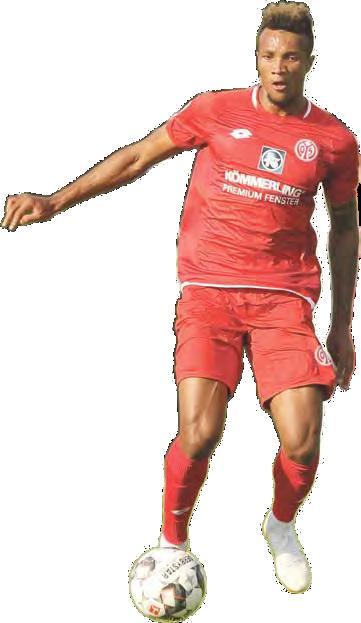 Muss bleiben: Führungsspieler Jean-Philippe Gbamin erhielt von den Mainzer Bossen ein Wechselverbot.