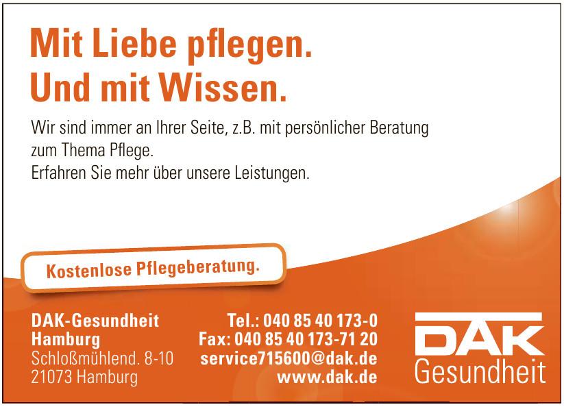 DAK-Gesundheit Hamburg
