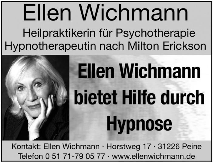 Ellen Wichmann Heilpraktikerin für Psychotherapie