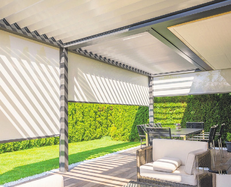 Wetterschutz mit Stil – Moderne Terrassen-Pavillons sind elegant ...