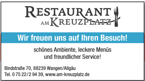Restaurant Am Kreuzplatz