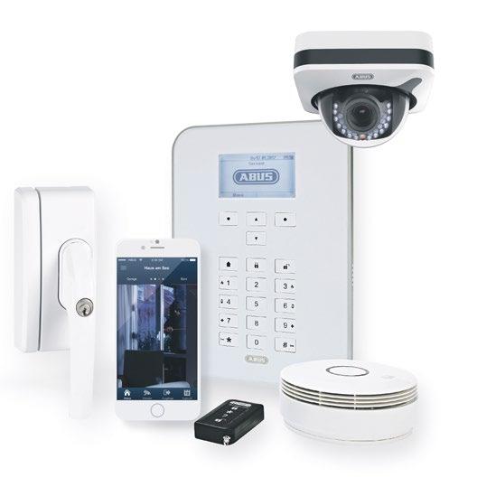 Mit der Secvest bietet Abus eine Alarmanlage mit smarten Schutzfunktionen