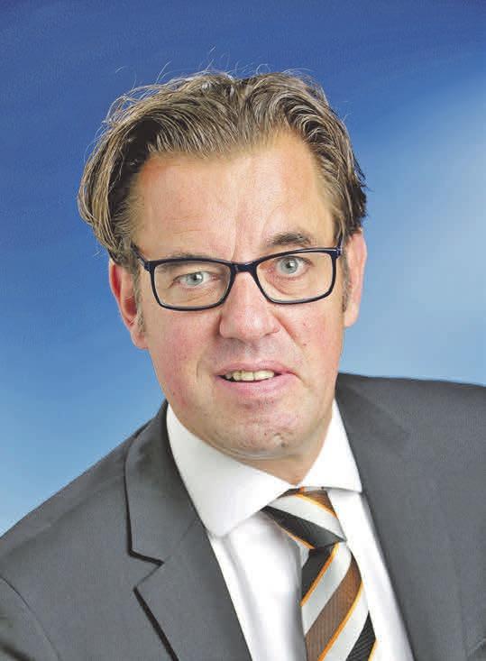 Dirk Rosskopf informiert rund um das Thema Smarthome. Foto:Volksbank BraWo