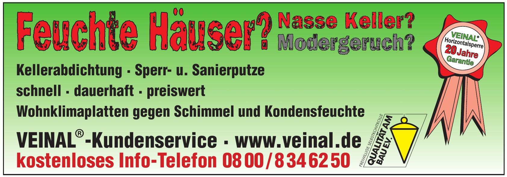VEINAL® Kundenservice