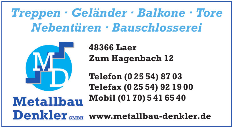 Metallbau Denkler GmbH