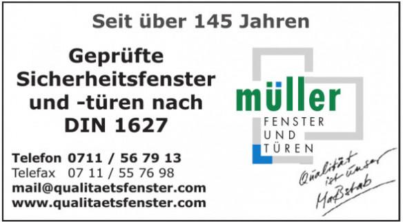 Müller Fenster und Türen