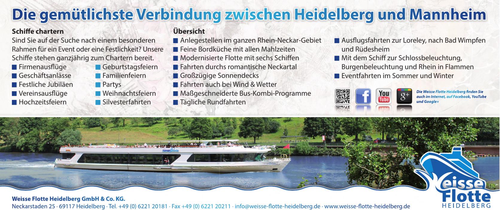 Weisse Flotte Heidelberg GmbH & Co. KG.