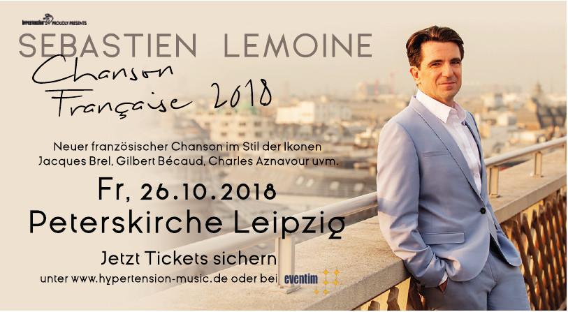"""Sébastien Lemoine """"Chanson Francaise 2018"""""""