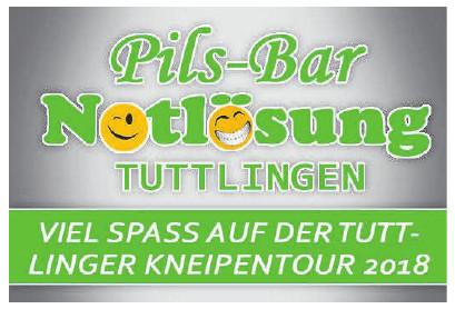 Pils-Bar Notlösung