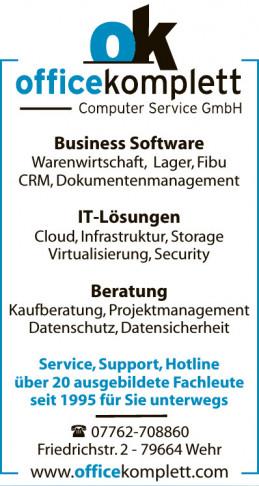 ok officekomplett Computer Service GmbH
