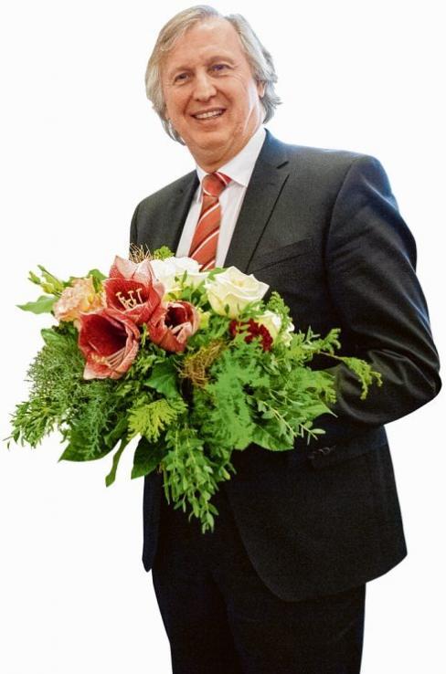 Reinhard Schöwe freut sich über die Anerkennung AGENTUR RAUM 11