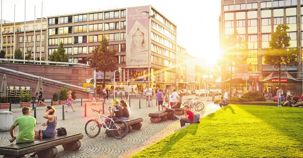 """""""Die Planken sind das Wohnzimmer der Mannheimer"""", so Lutz Pauels von der Werbegemeinschaft Mannheim-City"""
