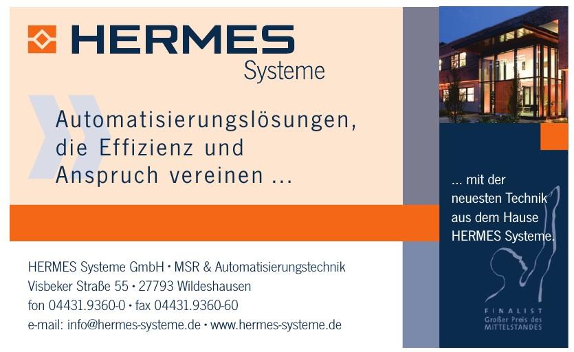 Hermes Systeme GmbH · MSR & Automatisierungstechnik