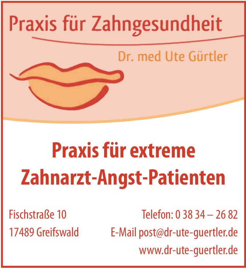 Praxis für Zahngesundheit Dr. med Ute Gürtler