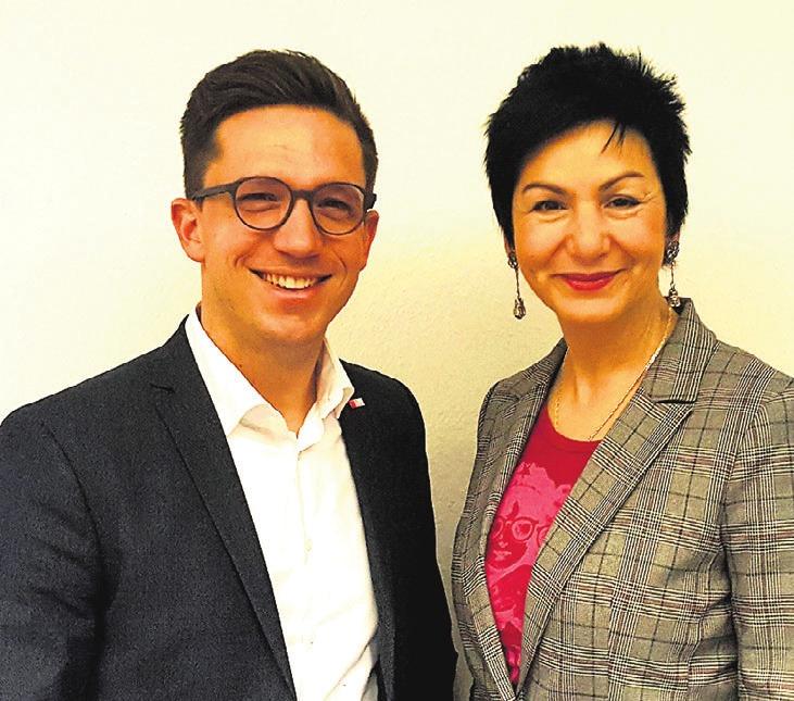 Falko Mohrs und Immacolata Glosemeyer