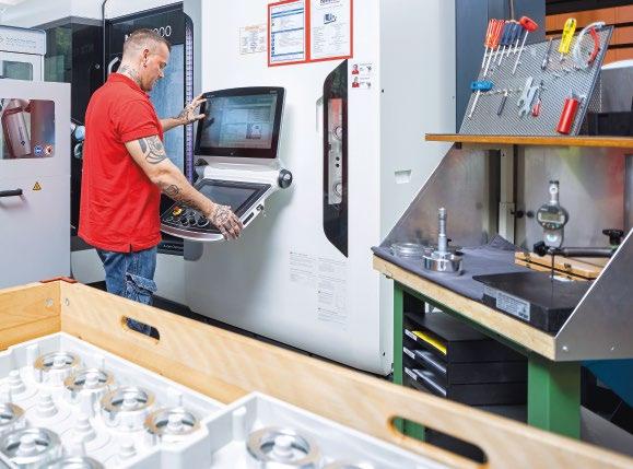 Lean Production Arbeitsplatz bei Femron