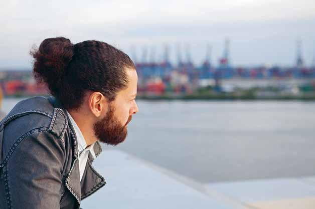 Raues Hamburg: Schauspieler Erkan Cakir verkörpert den neuen Spirit ebenso wie ...