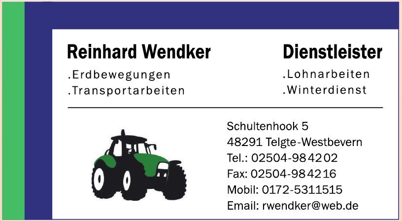 Reinhard Wendker