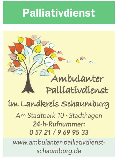 Ambulanter Palliativdienst im Landkreis Schaumburg GmbH