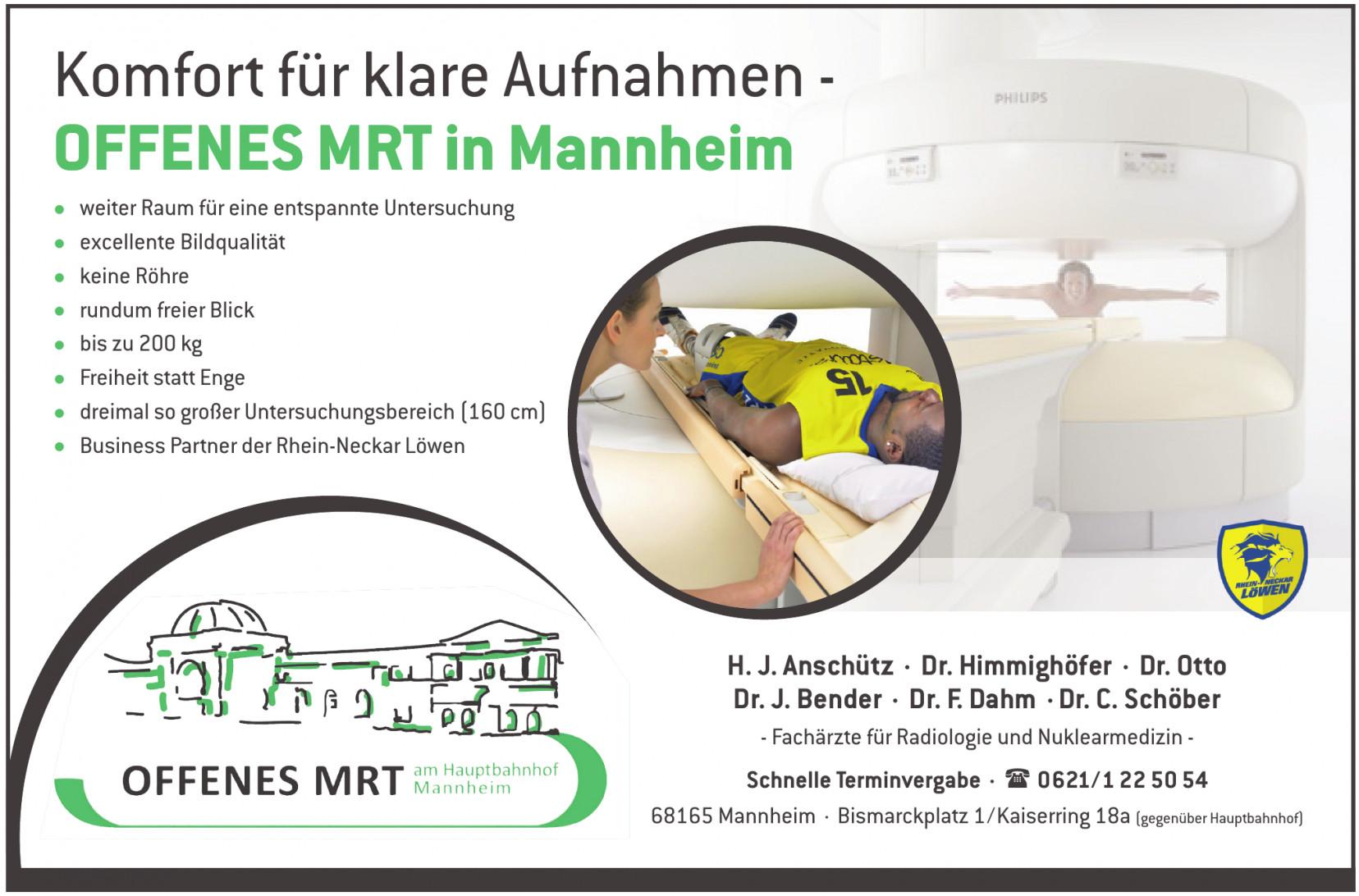 Offenes MRT in Mannheim