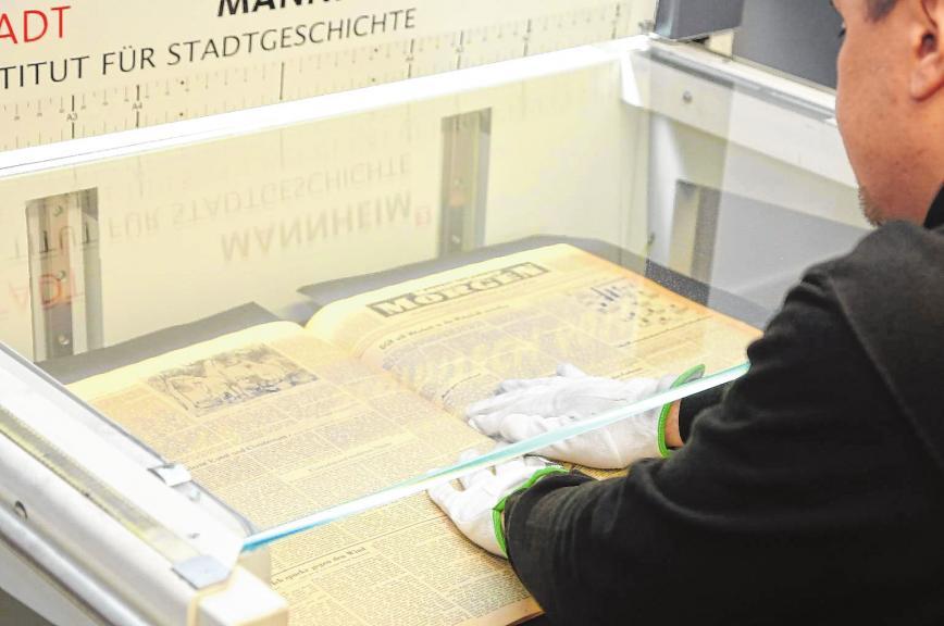 """Mannheimer Marchivum will mehr sein als nur ein Stadtarchiv und heißt """"Haus der Stadtgeschichte und Erinnerung"""""""