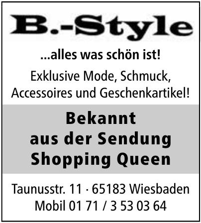 B.-Style
